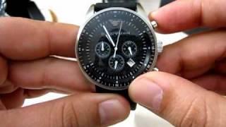 new emporio armani watch ar 0527