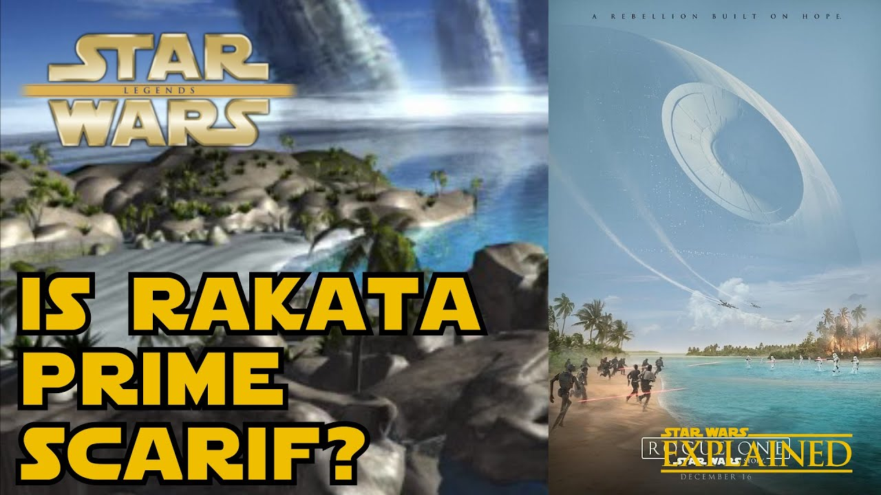 Scarif is Actually Rakata Prime (Rogue One Theory) - Star Wars Explained