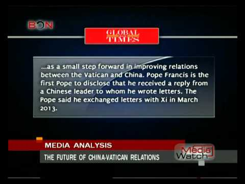 The future of China-Vatican relations- Aug. 15th.,2014 - BONTV China
