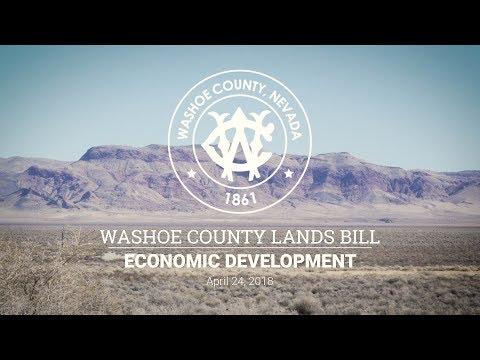Washoe County Lands Bill Meeting - Economic Development