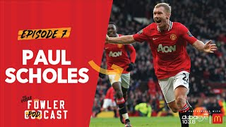 Paul Scholes on 'bollocks' Sir Alex spat & doubting Cristiano Ronaldo | The Robbie Fowler Podcast