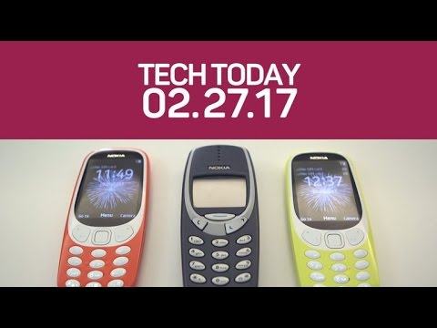 Nokia updates the 3310 and Samsung teases the Galaxy S8 (Tech Today)