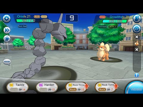 Legends of Monsters Official Gameplay of the new Pokemon game for Android | Monster vs Episode 1