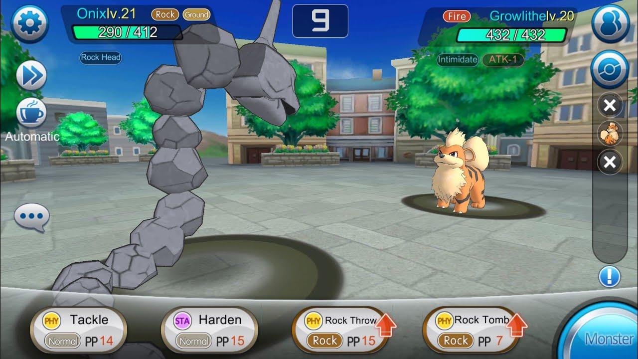 game of monster pokemon legends