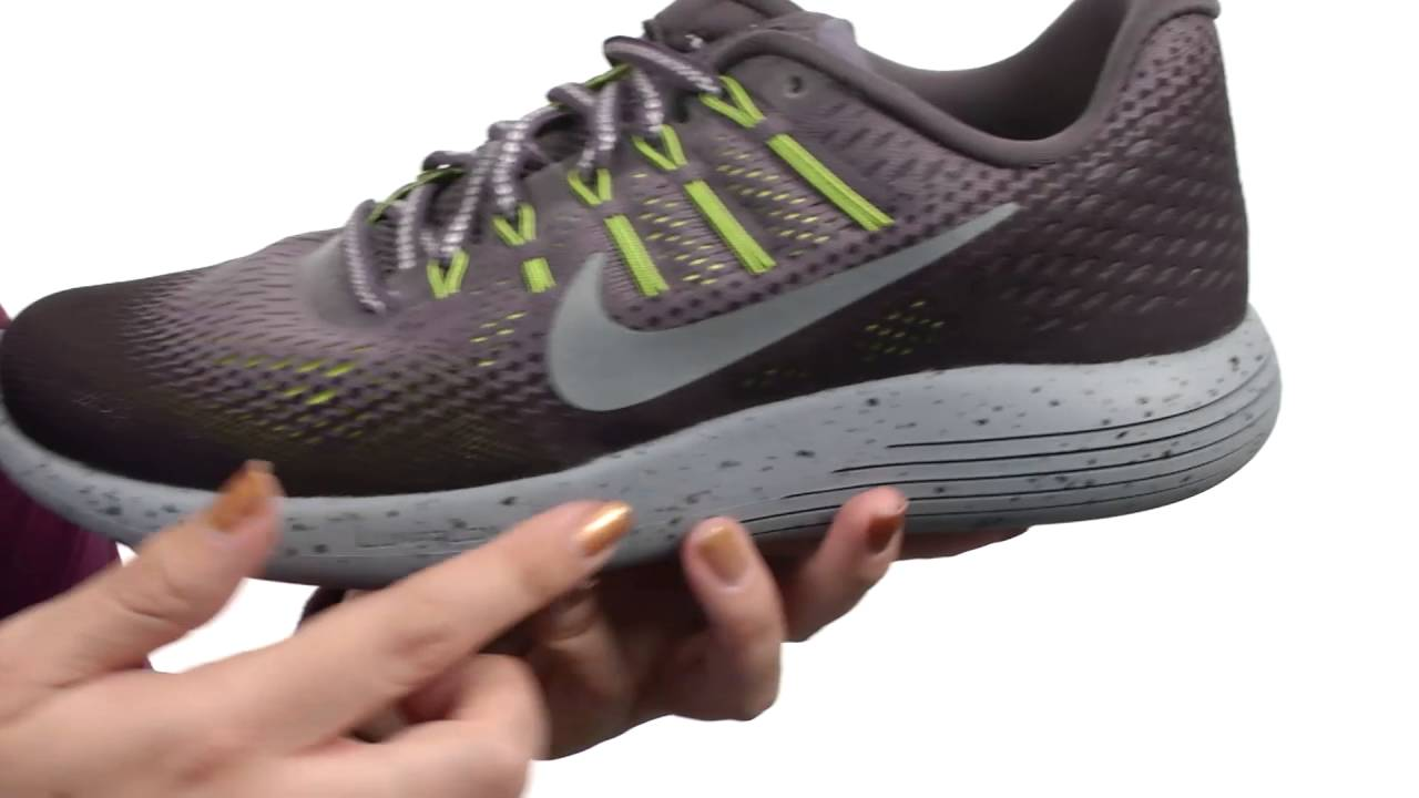 b96d24cf35e792 Nike LunarGlide 8 Shield SKU 8753694 - YouTube