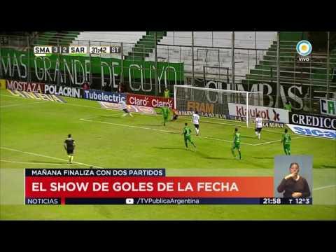 Fútbol fecha 26: show de goles