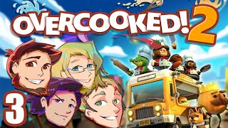Overcooked 2: Master Chefs - EPISODE 3 - Friends Without Benefits