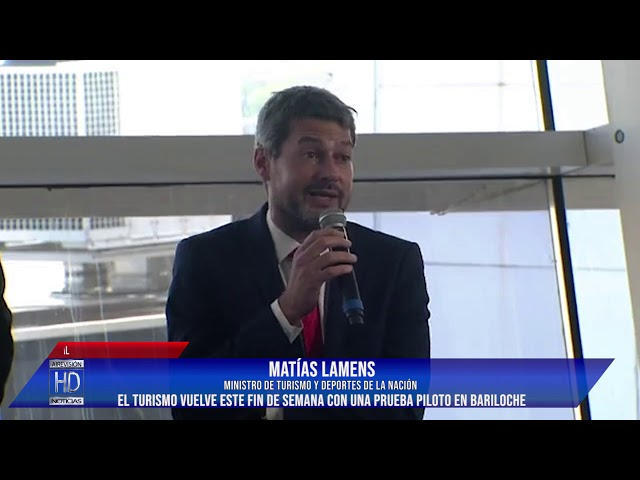 Matías Lamens El turismo vuelve este fin de semana con una prueba piloto en Bariloche