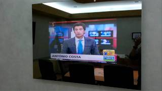 Espelho com TV fabrico Português