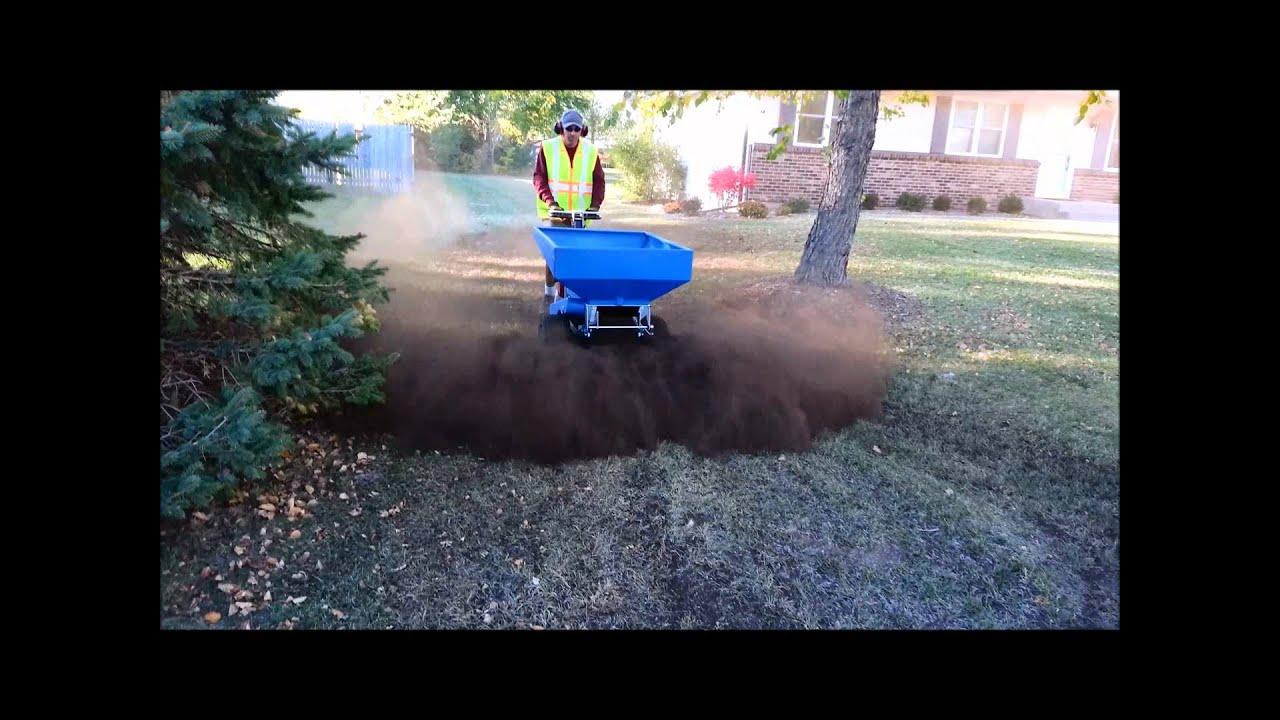 Rockford Organic Compost Spreading Video Organic Lawn