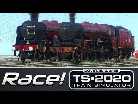 Train Simulator 2020 - Royal Scot V.S. Jubilee Class (Race!)