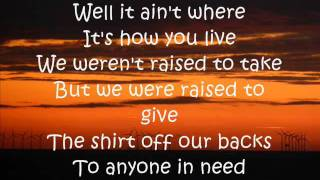 Repeat youtube video Country Must Be Country Wide Lyrics Brantley Gilbert