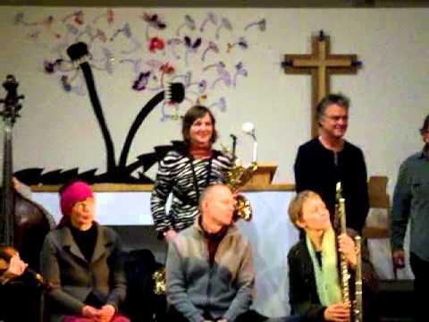 Wuppertaler Improvisations Orchester (WIO) feat. Steve Beresford 20.1.2012 Sophienkirche Wuppertal 2