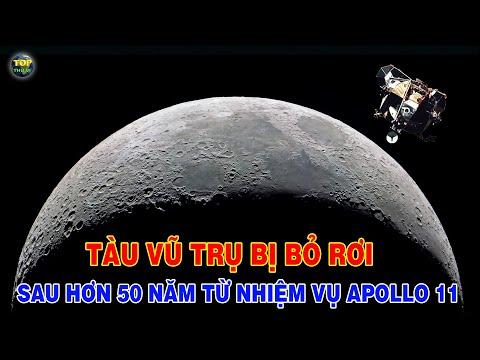 Tàu vũ trụ bị bỏ rơi từ nhiệm vụ Apollo 11 vẫn có thể đang bay quanh Mặt trăng   Top thú vị  