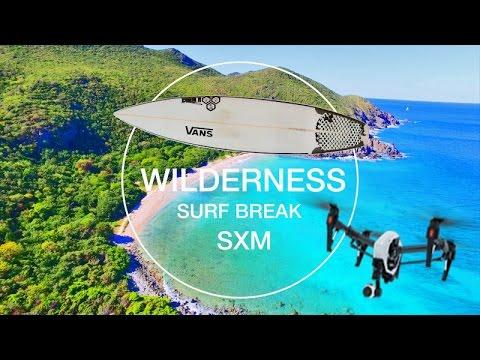 Wilderness SURF BREAK ~ SXM ~ EPIC DRONE CARIBBEAN ~ WeBeYachting.com ~ CabareteGetAway.com