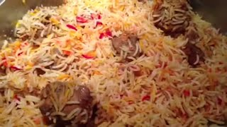 """Biryani"" (English) HOW TO COOK PERFECT BIRYANI - Pakistani/Indian Cooking with Atiya"