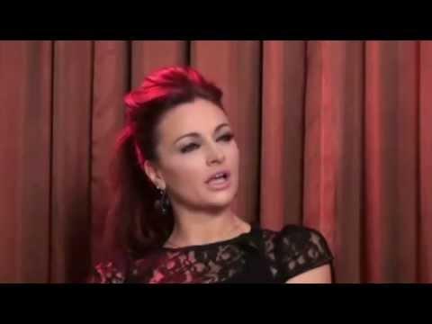 Maria Kanellis shoots on Randy Orton