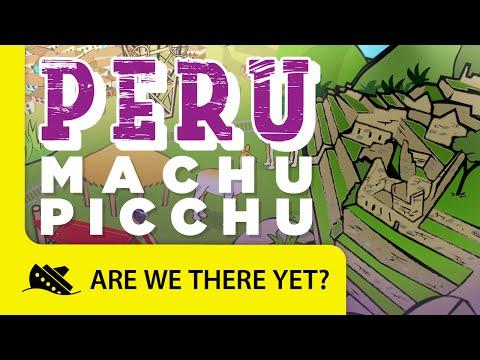 Peru: Machu Picchu - Travel Kids in South America