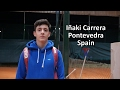 College Tennis Recruitment - Iñaki Carrera (Spain) - FALL 2017