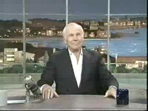 Johnny Carson's last TV appearance