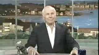 Johnny Carson's last TV appearance