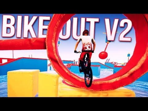 Wipeout On Bikes Is Back! - BikeOut V2 - The Most Difficult Course Yet In Descenders?