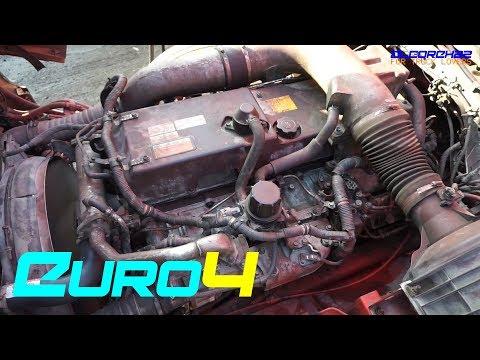 UD(Nissan Diesel) GE13 Euro4 Engine View