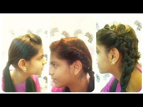 How To Make 3 Easy Hairstyles With Two Ponytailpigtails Simple