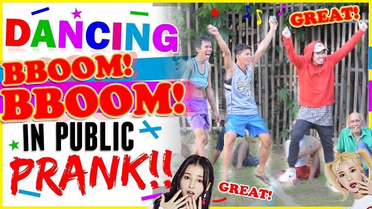 Dancing Bboom Bboom In Public Prank!