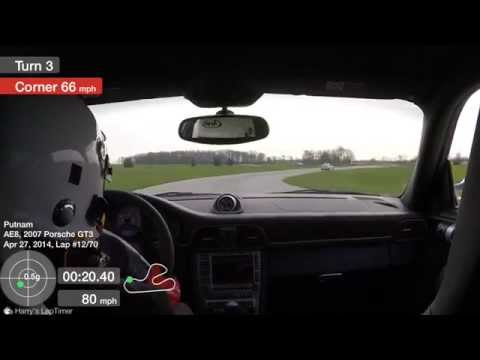 Flying lap at Putnam Road Course with the PCA CIR group