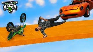 GTA V Online: MOTOS vs CARROS - A MITADA do ANO! (LIPAO GAMER)