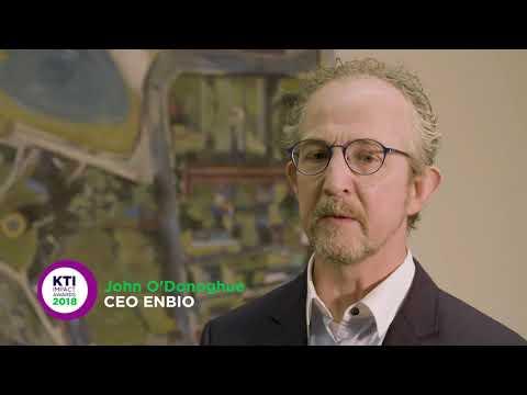 Winner KTI Collaborative Research Award 2018 - University College Dublin collaborating with ENBIO