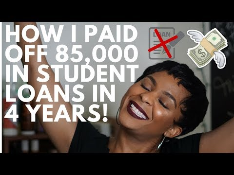 Millennial In Debt: How I Paid Off 85,000 In Student Loans (Very Detailed | Highly Requested)