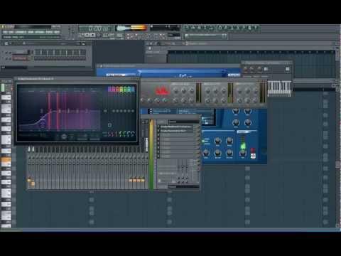 How to make a Progressive House melody in Fl Studio Melody - Lead - kick - sidechain + flp
