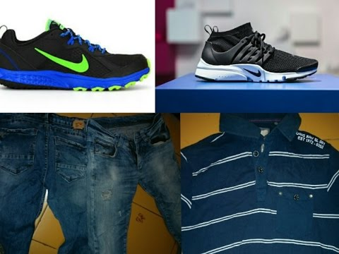 50% OFF ORIGINAL BRANDED SHOES VERY CHEAP|| NIKE PUMA ADDIDAS SPYKAR JEANS  inorbit mall vashi