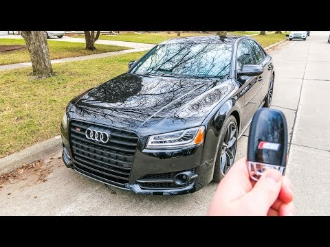 What It's Like To Drive The '17 Audi S8 Plus!