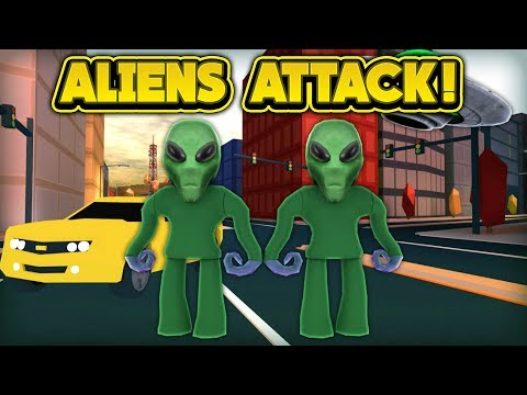 ALIENS ARE ATTACKING JAILBREAK! (ROBLOX Jailbreak)