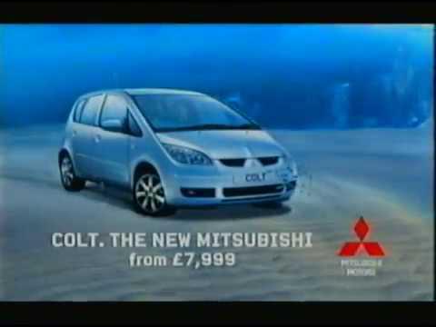 Colt Mitsubishi car Vintage Advert