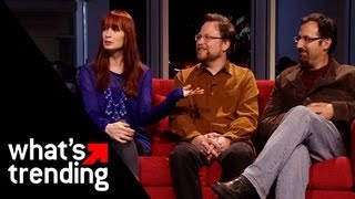 Learning Town First Look w/ Felicia Day, Paul & Storm | EXCLUSIVE
