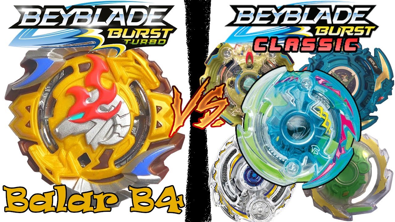 THE TURBO PROJECT: Part 4 - Balar B4 vs Competitive Beyblade Burst Classic Combos! #BeybladeBurst