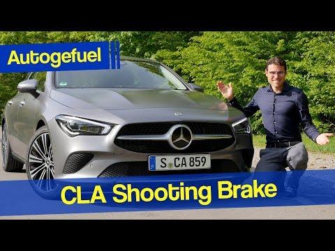2020 Mercedes CLA Shooting Brake 250 4Matic Progressive REVIEW - Autogefuel