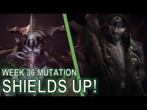 Starcraft 2 Co-Op Mutation #36: Shields Up! [Bile Launchers]