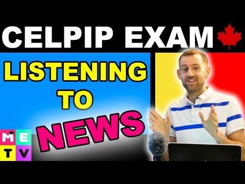 CELPIP Listening To A News Item