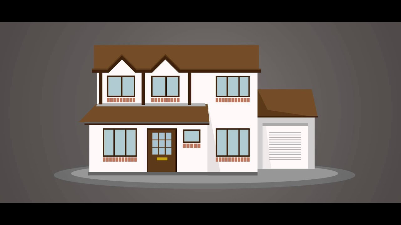 39 house 39 motion graphic test youtube for How do i build a house