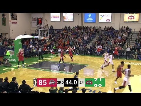 RJ Hunter, Andrew White  Highlights from Maine Red Claws vs. Rio Grande Valley Vipers
