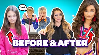 CRUSH Reacts To Sophie Fergi's First Beauty Pageant **BEFORE and AFTER Challenge**| Cambrie's Court