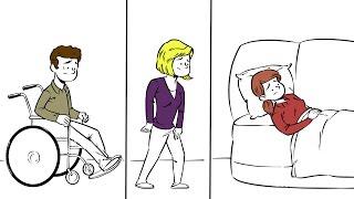 Les symptômes de la sclérose en plaques sont différents d'une personne à l'autre