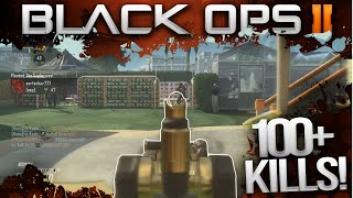 """""""FIRST 100+ KILLS EVER!"""" - Black Ops 2 - Gold Scar-H Multiplayer Gameplay"""