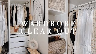 Walk In Wardrobe Clęar Out & Declutter | Organise With Me | I Covet Thee