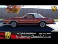 1979 Ford Thunderbird Stock #7109 Gateway Classic Cars St. Louis Showroom
